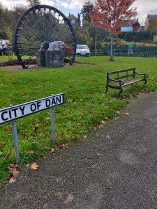 LCC bench City of Dan