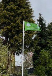 Parish Flag Flying